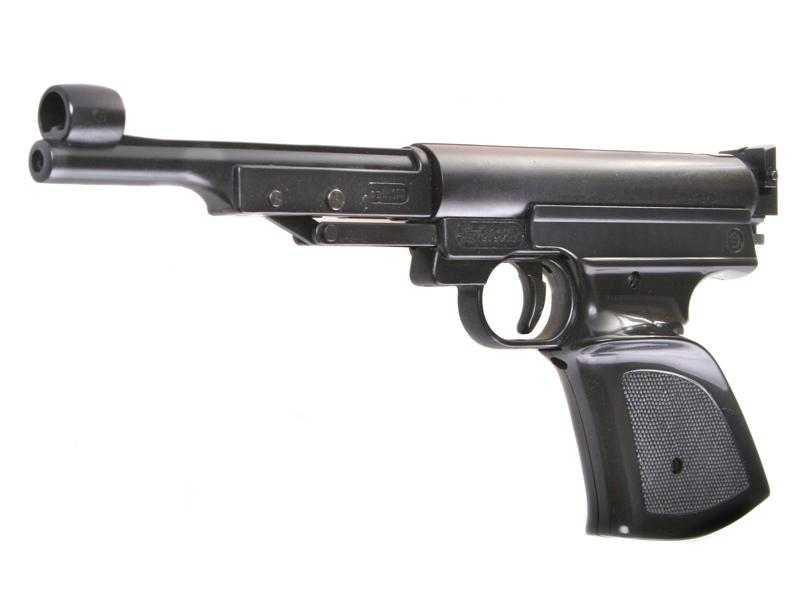 Пневматический пистолет record lp3 черный