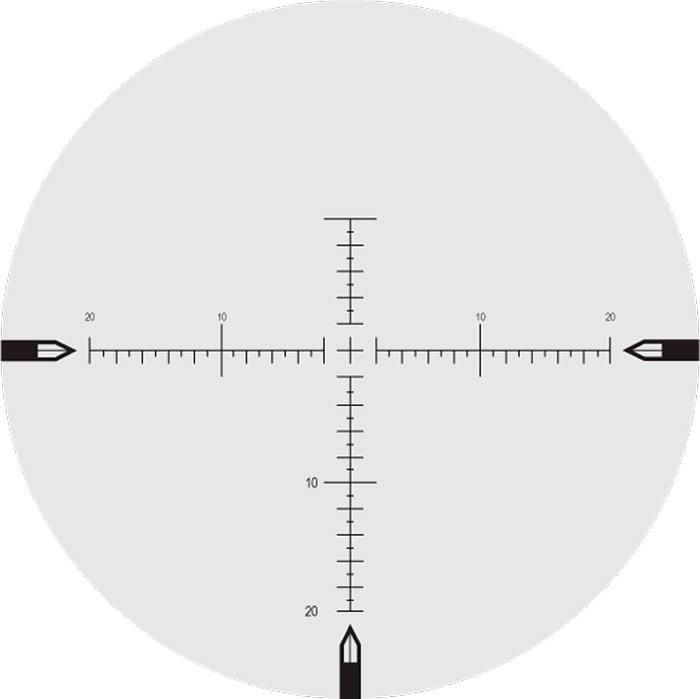 Оптический прицел Nightforce 5-25x56 34мм ATACR, .250 MOA, с подсветкой (MOAR)