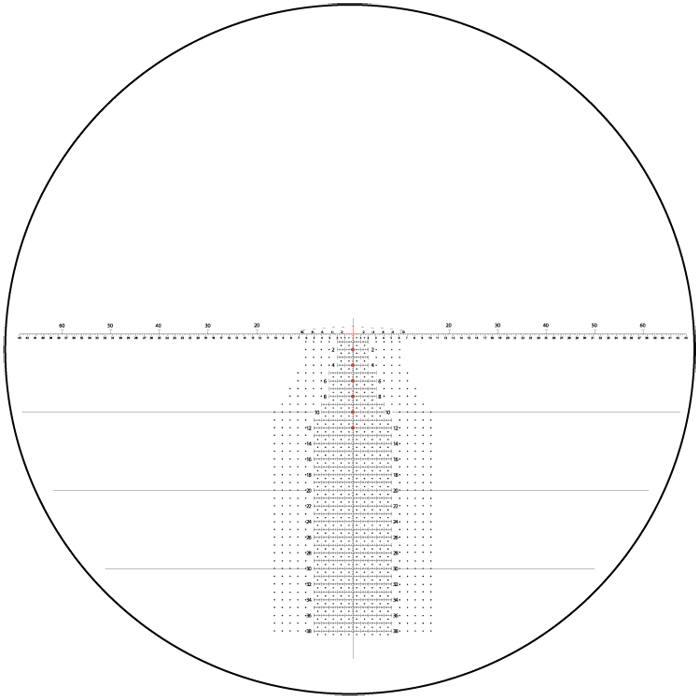 Оптический прицел Nightforce 5-25x56 34мм B.E.A.S.T, .25 и .50 MOA, с подсветкой (H59)
