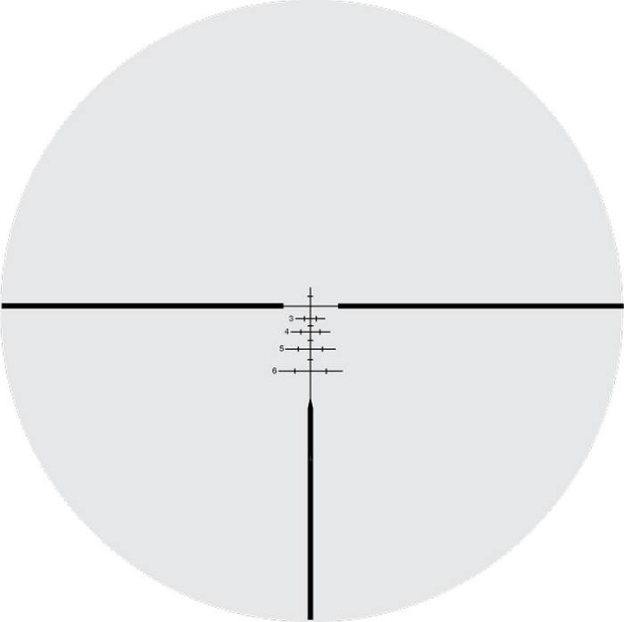 Оптический прицел Nightforce 2.5-10x32 30мм NXS Compact, .250 MOA, с подсветкой (Velocity 600)
