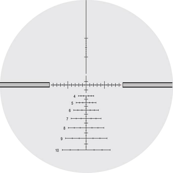 Оптический прицел Nightforce 3.5-15x50 F1 30мм NXS, .250 MOA, с подсветкой (LV.5)