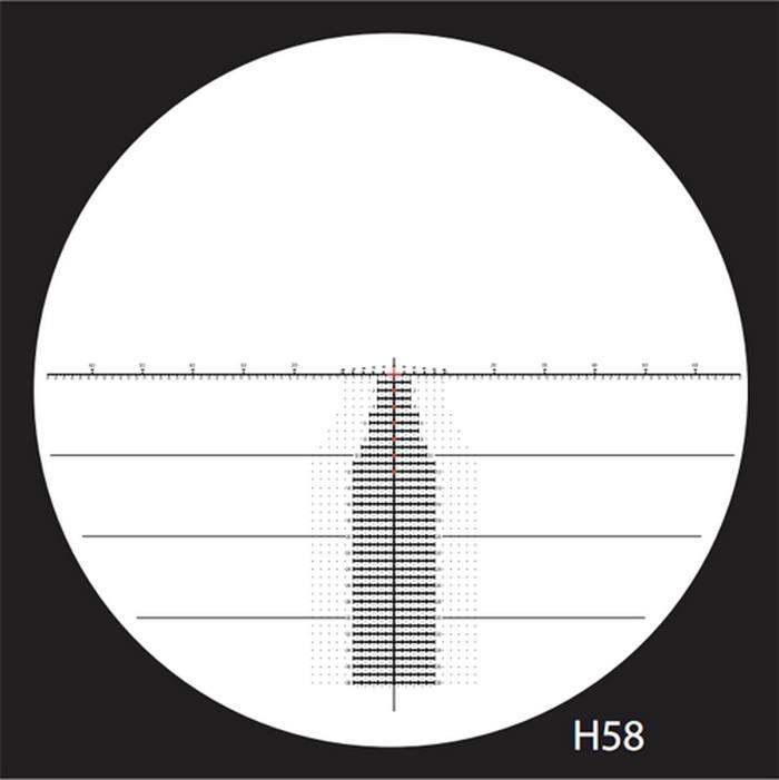 Оптический прицел Nightforce 3.5-15x50 F1 30мм NXS, .250 MOA, с подсветкой (H58)