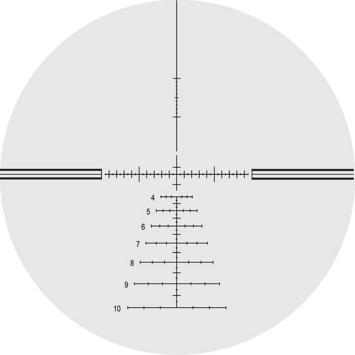 Оптический прицел Nightforce 5.5-22x50 30мм NXS, .250 MOA, с подсветкой (Velocity™ 1000)