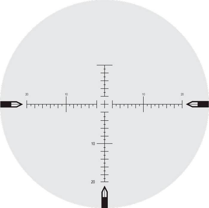 Оптический прицел Nightforce 5.5-22x50 30мм NXS, .250 MOA, с подсветкой (MOAR)
