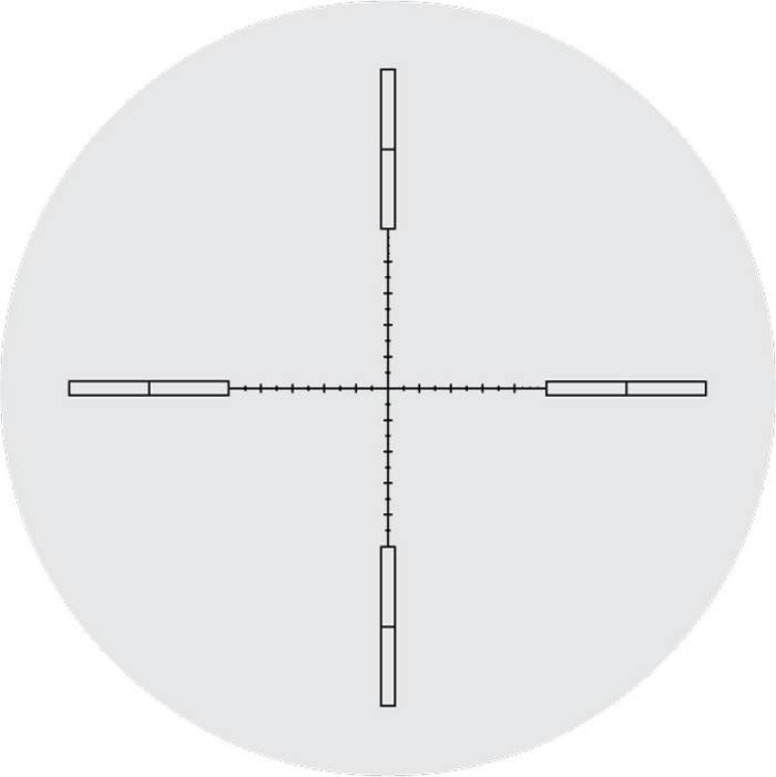 Оптический прицел Nightforce 5.5-22x56 30мм NXS, .250 MOA, с подсветкой (MLR)