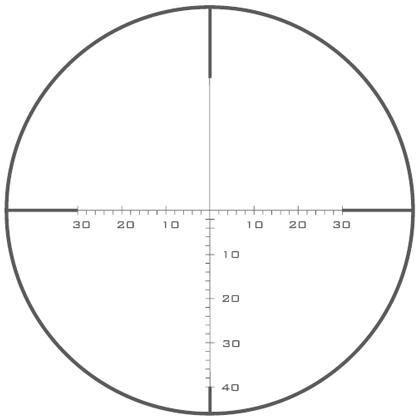 Оптический прицел U.S. Optics 1.8-10x37 30мм SN-3 T-PAL (MOA Scale Type 1)