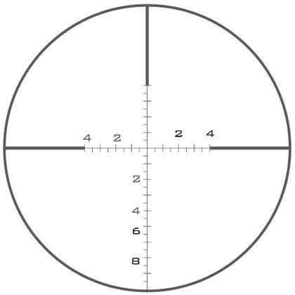 Оптический прицел U.S. Optics 1.8-10x37 30мм SN-3 T-PAL (Mil-Scale GAP)