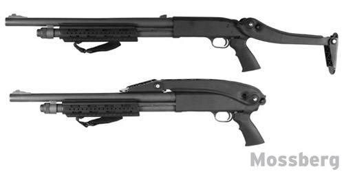Приклад складной тактический для Mossberg, Remington и Winchester