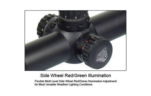Оптический прицел Leapers 3-9x40 AO TS Full Size, сетка Mil-Dot с 2-х цв.подсветкой, в комплекте кольца на 12мм, SCP-U394AOLD