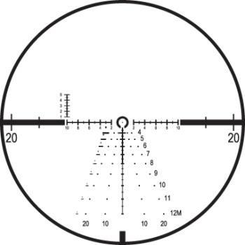 Оптический прицел Leupold Mark 6 1-6x20 (34mm) M6C1 матовый с подсветкой (Front Focal CMR-W 5.56) 115044