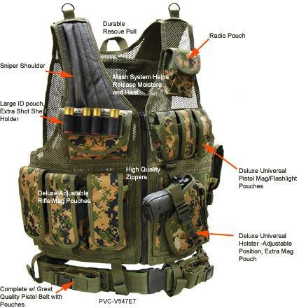 Тактическое b снаряжение /b Leapers.